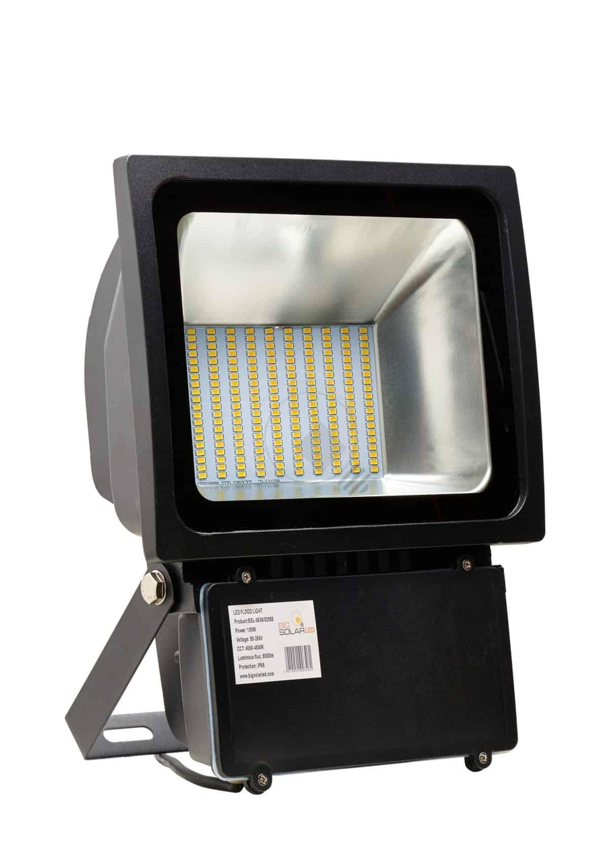 Προβολέας Led FLOOD 100w 230v 5000k 120° 7.500lm EPISTAR BSL 0636/02059 BIG LED