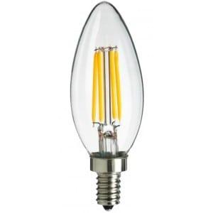 Λάμπα Led filament κερί 3.5W E14 dimmable