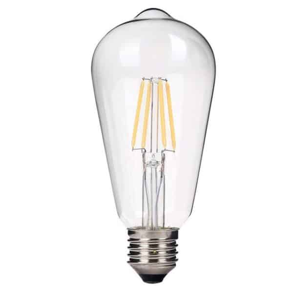 Λάμπα Led fimlament 6W E27 EDISON