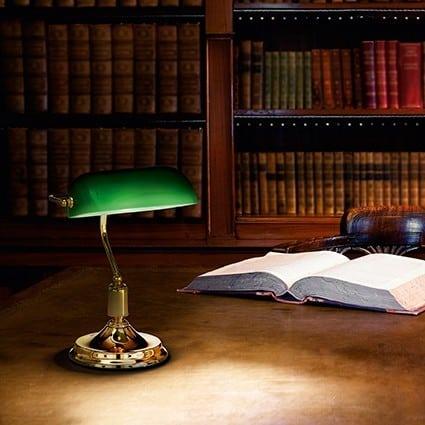 Φωτιστικό γραφείου lawyer brass