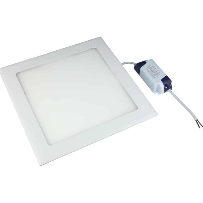 Πάνελ Led χωνευτό τετράγωνο BIG LED 18w 220v 3000k