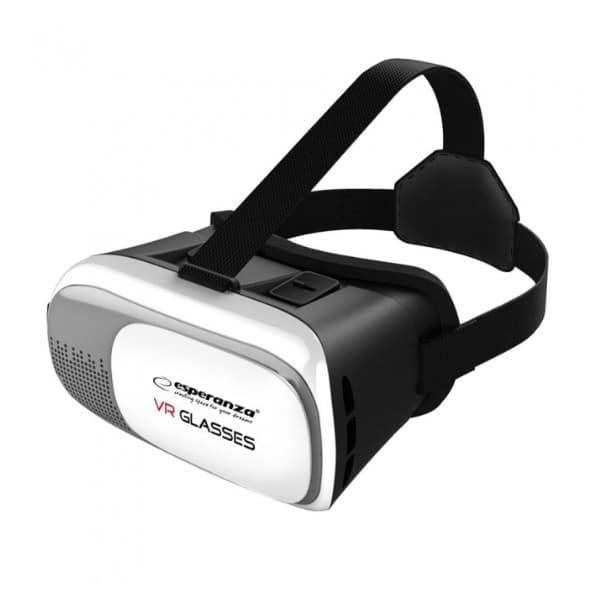 """Γυαλιά 3D VR εικονικής πραγματικότητας 360° για smartphones 3.5 """"- 6"""" EMV300"""