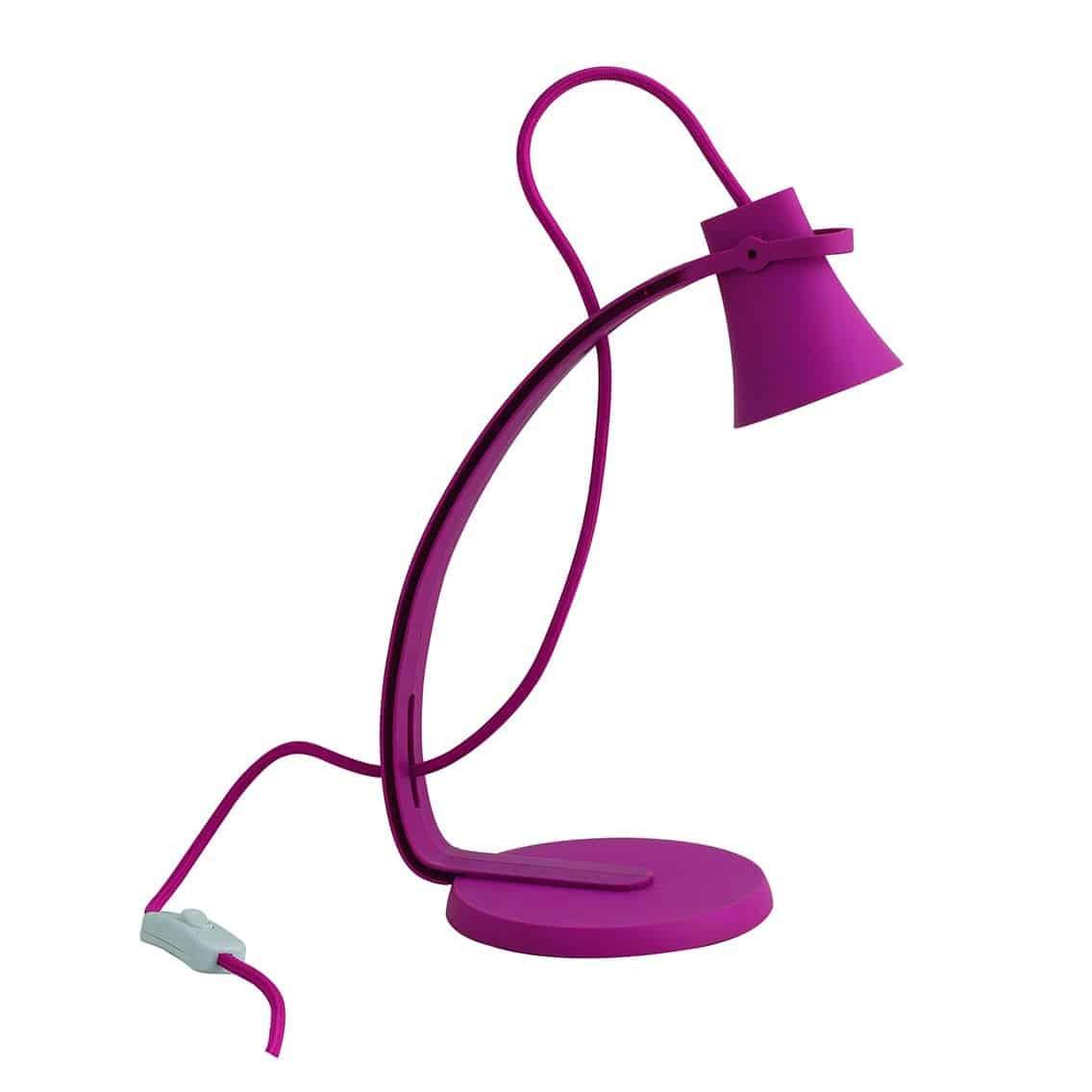 Φωτιστικό γραφείου led ροζ KANT FAN EUROPE