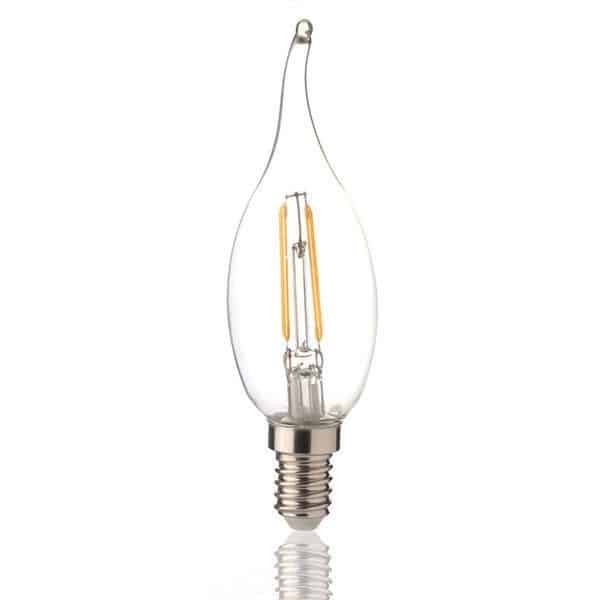 Λάμπα Led filament κερί 2W E14 dimmable BSL 0635/02340 BIG LED