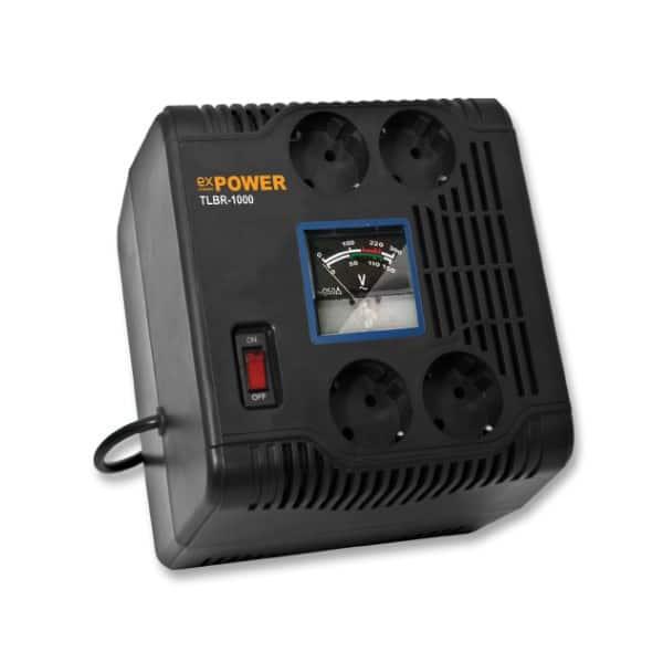 Σταθεροποιητής Τάσης 1000VA Relay AVR TLBR-1000VA eX-Power