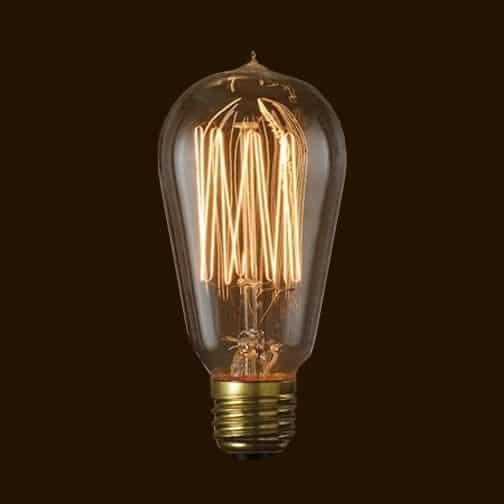 Λάμπα διακοσμητική Edison 40w ST64-E27-40 UNIVERSE