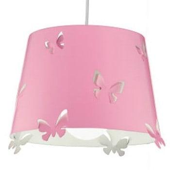 Φωτιστικό κρεμαστό με καπέλο ροζ 5724s Perenz ILLUMINA