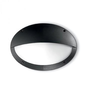 Φωτιστικό απλίκα οβάλ εξωτερικού χώρου μαύρο χρώμα 096728 Maddi Fumagalli