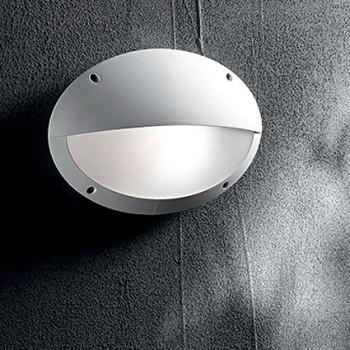 Φωτιστικό απλίκα οβάλ εξωτερικού χώρου λευκό χρώμα 096735 Maddi Fumagalli