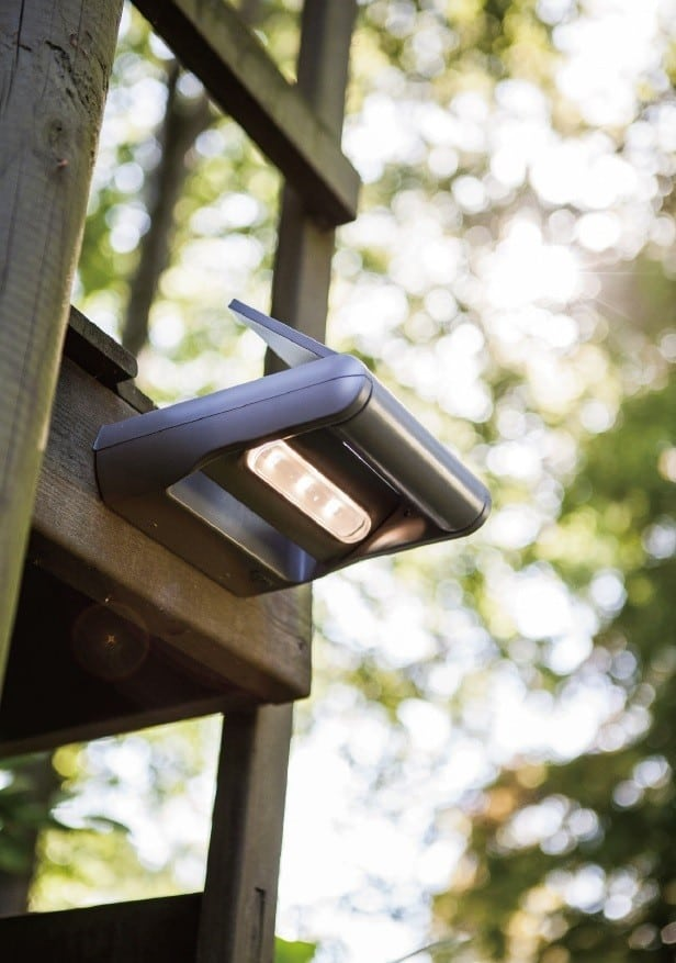 Ηλιακό επίτοιχο φωτιστικό MINI LEDSPOT Lutec