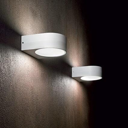 Φωτιστικό επίτοιχο εξωτερικού χώρου γκρι 092218 Iko Ideal Lux