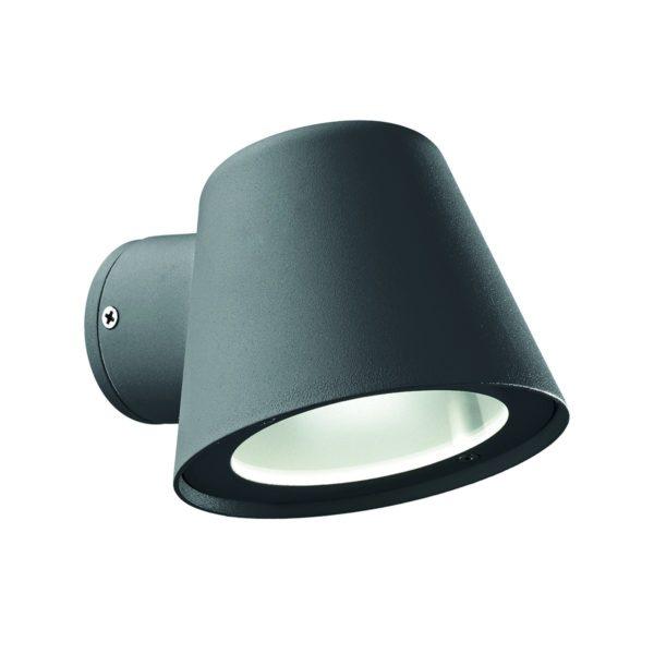 Φωτιστικό επίτοιχο εξωτερικού χώρου ανθρακί 091525 GAS Ideal Lux
