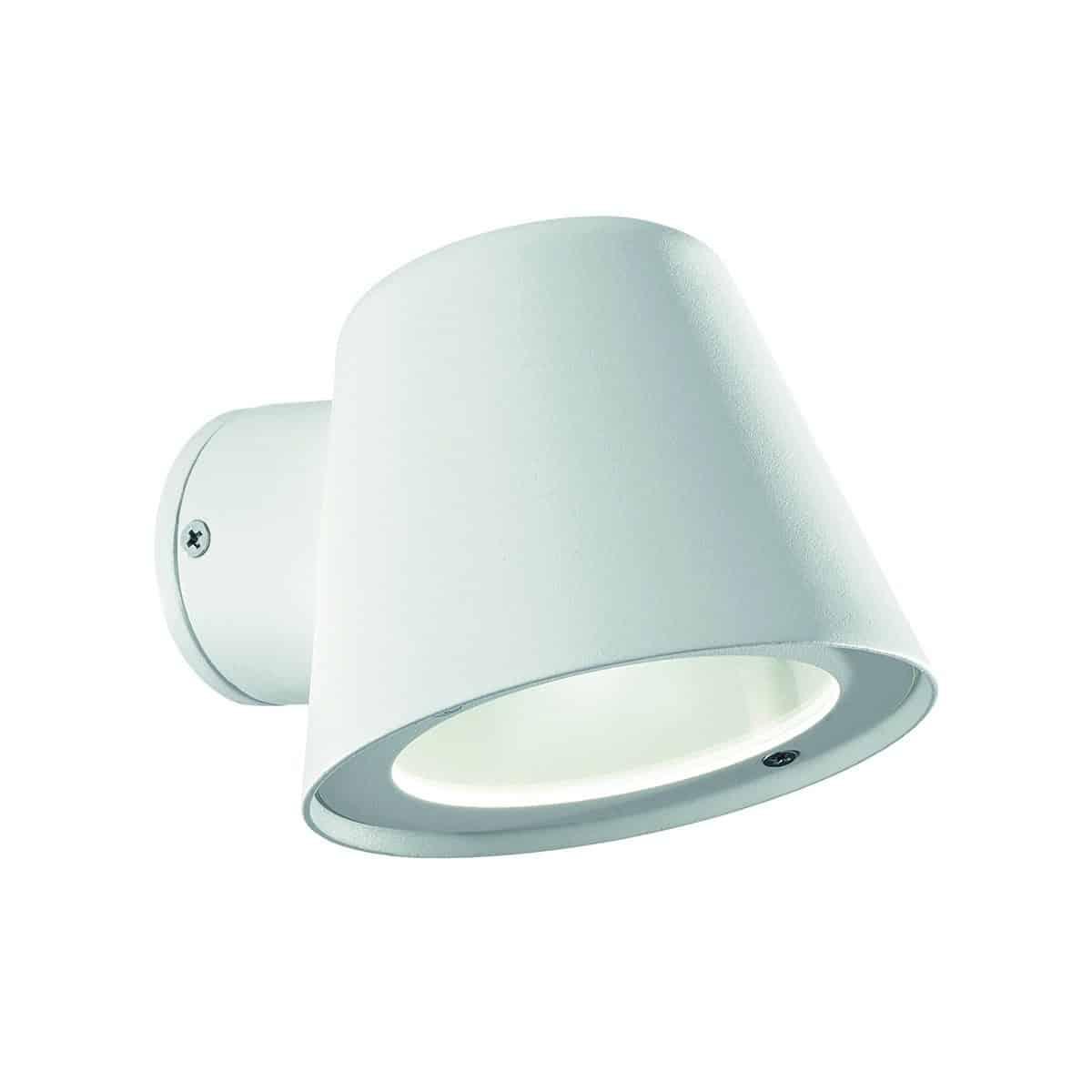 Φωτιστικό επίτοιχο εξωτερικού χώρου λευκό 091518 GAS Ideal Lux