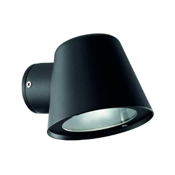 Φωτιστικό επίτοιχο εξωτερικού χώρου μαύρο 020228 GAS Ideal Lux