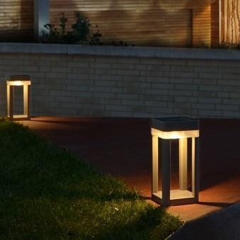Ηλιακό led φωτιστικό δαπέδου TABLE CUBE SOLAR LUTEC