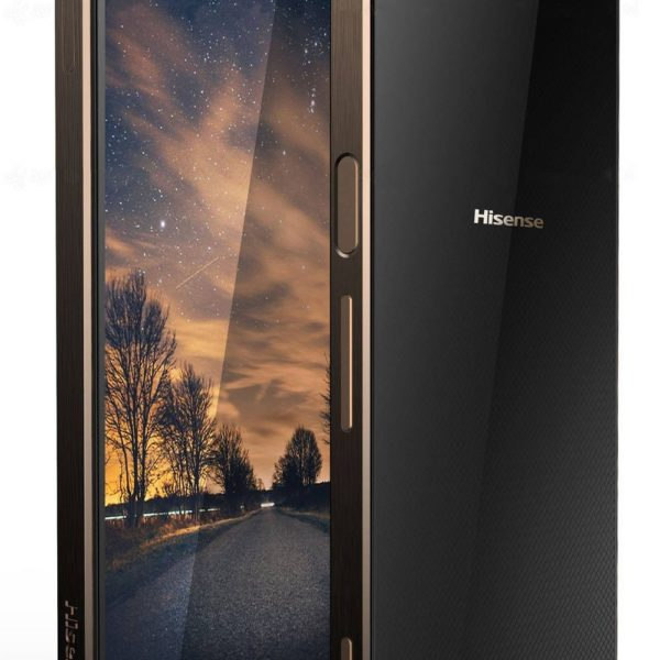 "Hisense C30 32GB Rock 4G LTE (Dual SIM) 5.2"" Android 7.0 μαύρο-χρυσαφί"