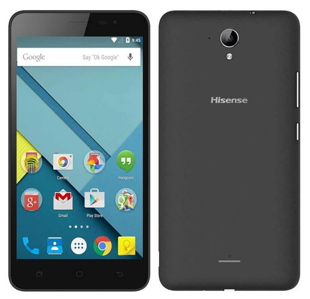 "Hisense F20 4G LTE 8GB (Dual SIM) 5.5"" Android 5.1 μαύρο"