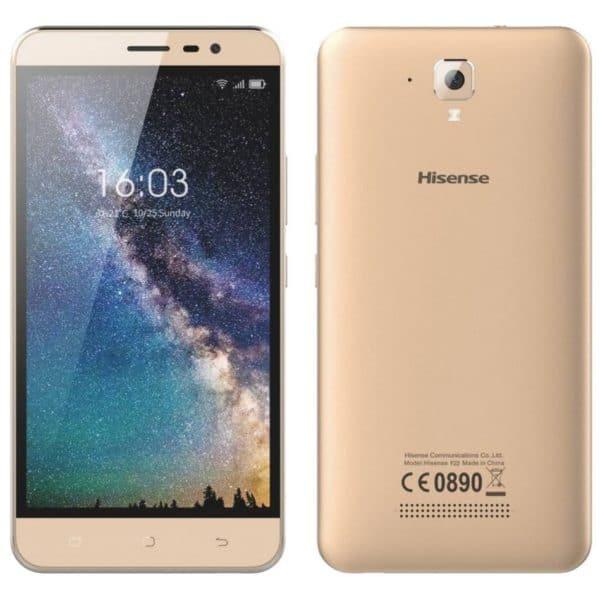 "Hisense F22 4G 8GB LTE (Dual SIM) 5.5"" Android 7.0 χρυσαφί"
