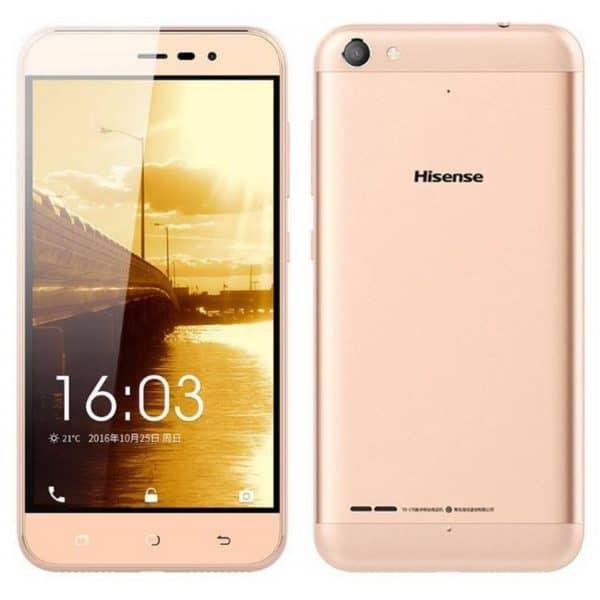 "Hisense F30 Pureshot Lite 16GB 4G LTE (Dual SIM) 5.0"" Android 6.0 Χρυσαφί"