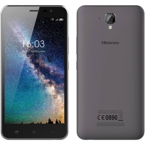 "Hisense F22 4G 8GB LTE (Dual SIM) 5.5"" Android 7.0 μαύρο"