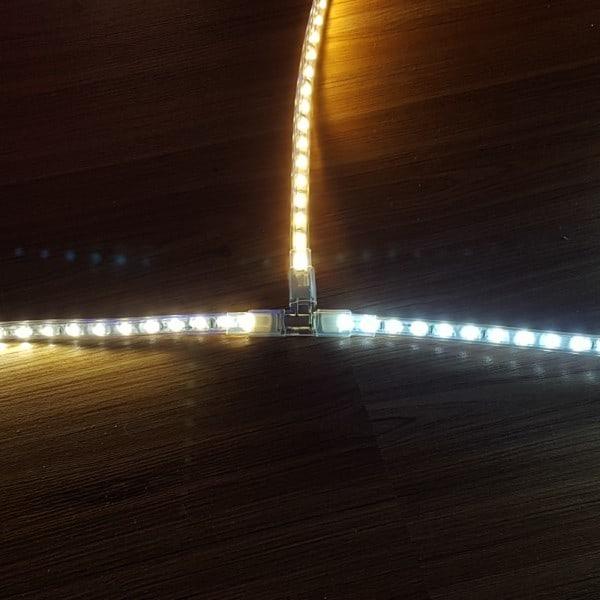 Ενδιάμεσος σύνδεσμος T για μoνόχρωμη ταινία LED 230V T-CONNECT UNIVERSE