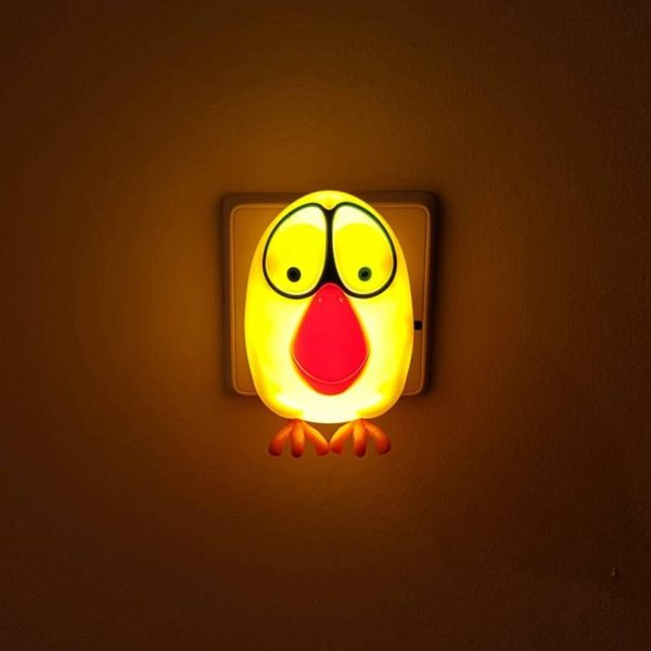 Φωτάκι νυκτός led 0.5W puffy κίτρινο