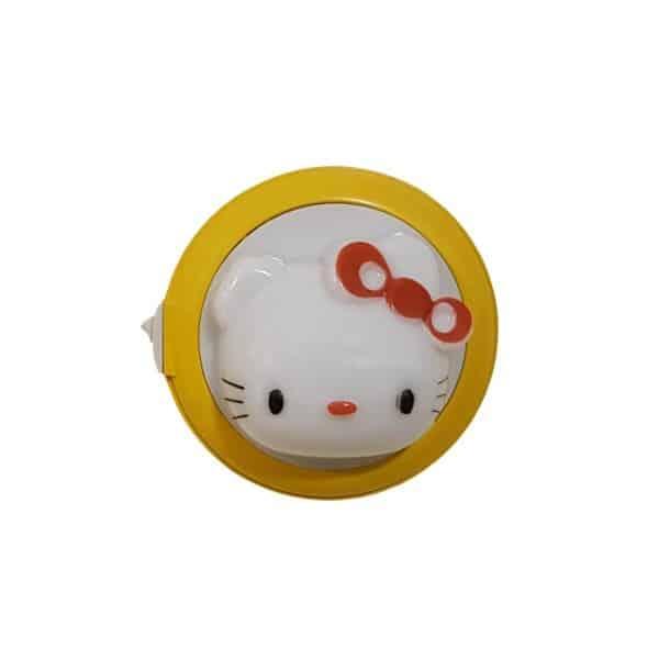 Φωτάκι νυκτός led 0.4W kitty λευκό φως