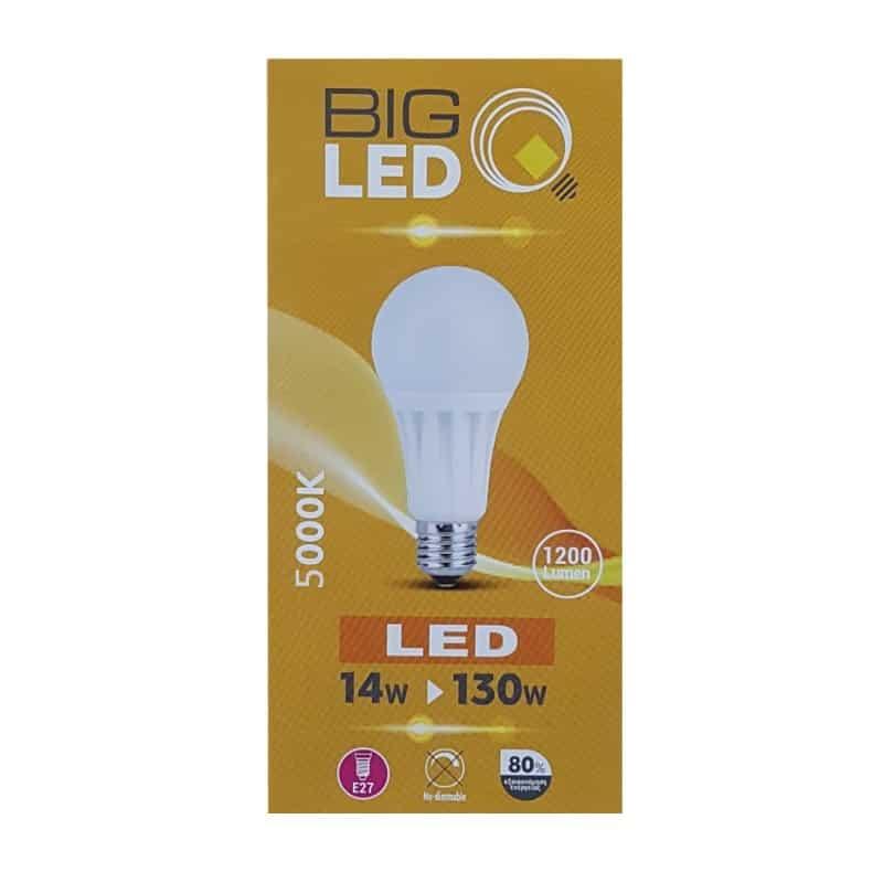 Λάμπα Led 14W 1250Lm 5000K Ε27 BSL 0635/02288 BIG SOLAR