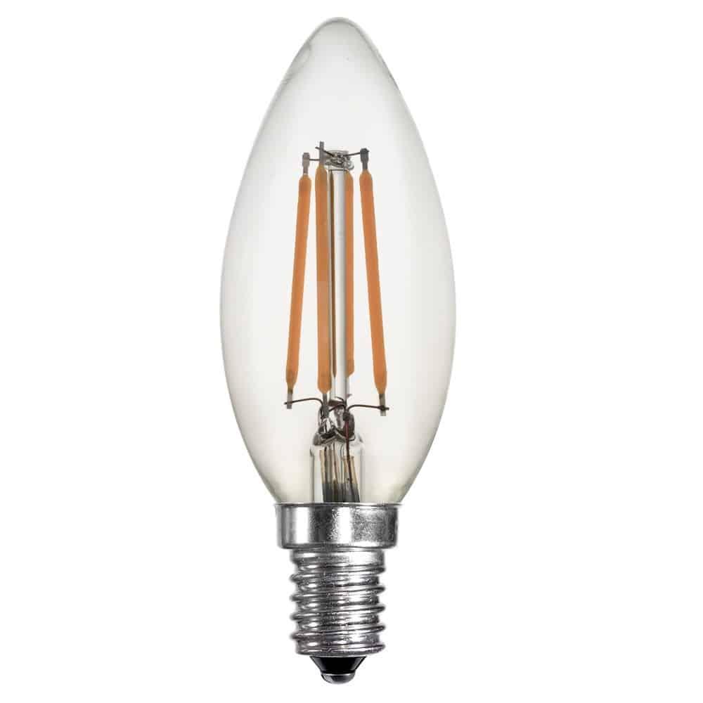 Λάμπα Led filament κερί 4W E14 BSL 0635/1805 BIG SOLAR