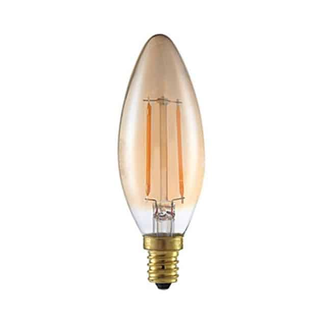 Λάμπα Led filament κερί 2W E14 BSL 0635/2053 BIG SOLAR