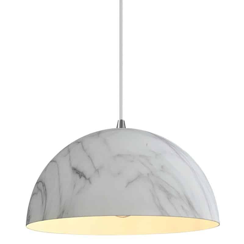 Φωτιστικό κρεμαστό Hermes λευκό SP1 00606 SOLLO