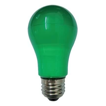 Λάμπα led Ε27 6W πράσινη LA55G DURALAMP