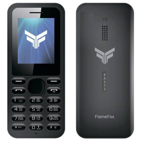 Κινητό τηλέφωνο FlameFox Easy2 (Dual Sim) με Bluetooth, Ραδιόφωνο, Φακό GR