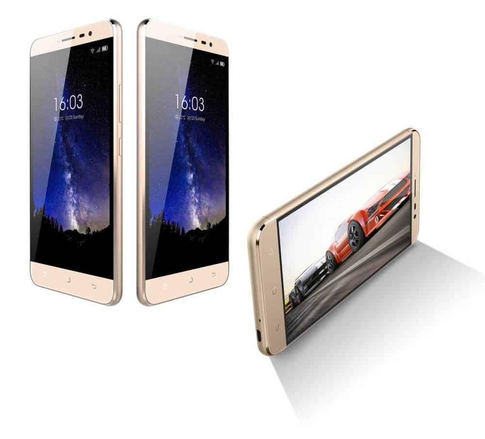 """Κινητό τηλέφωνο Hisense F23 4G LTE (Dual SIM) 5.5"""" Android 7.0 1280*720 HD Quad-Core 64bit 1.3 GHz 2GB RAM 16GB Χρυσαφί"""