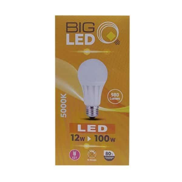 Λάμπα Led 12W 980Lm E27 5000k, BSL 0635/02285 BIG SOLAR
