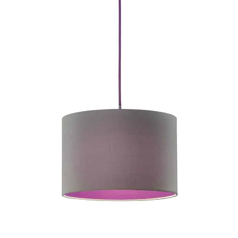 Φωτιστικό κρεμαστό Colorit γκρι μωβ 308500142 TRIO LIGHTING