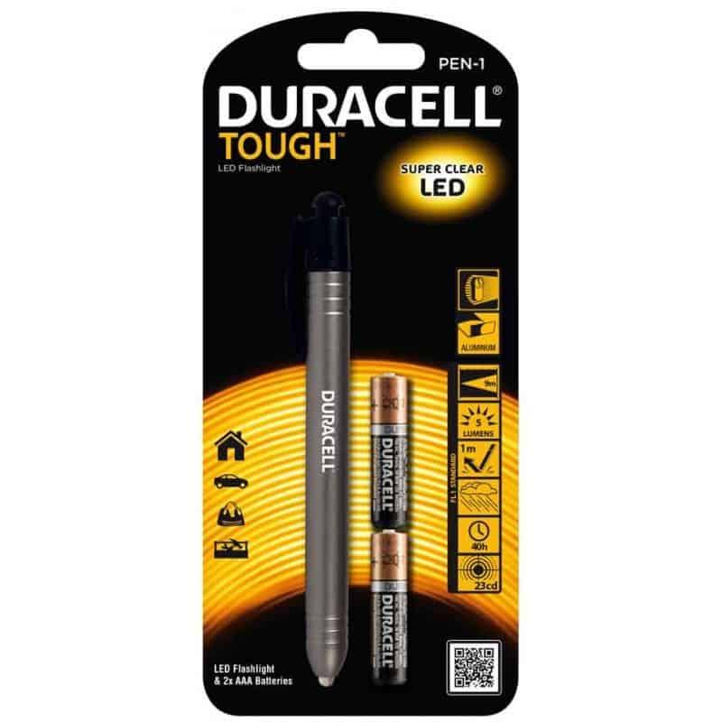 Φακός TOUGH PEN-1 DURACELL