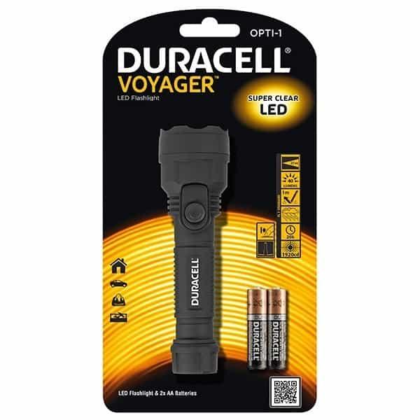 Φακός VOYAGER OPTI-1 DURACELL