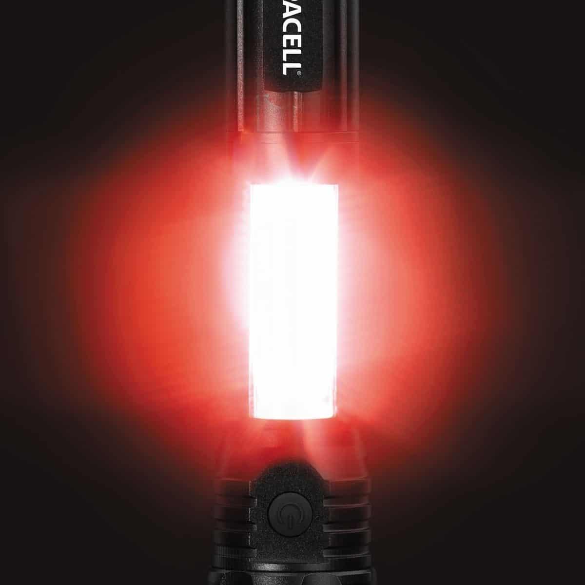 Φακός 3W EXPLORER WKL-2-T6 DURACELL red & white light