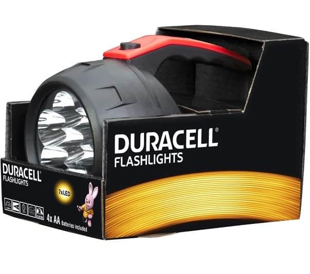 Φακός FLASHLIGHTS FLN-2 DURACELL
