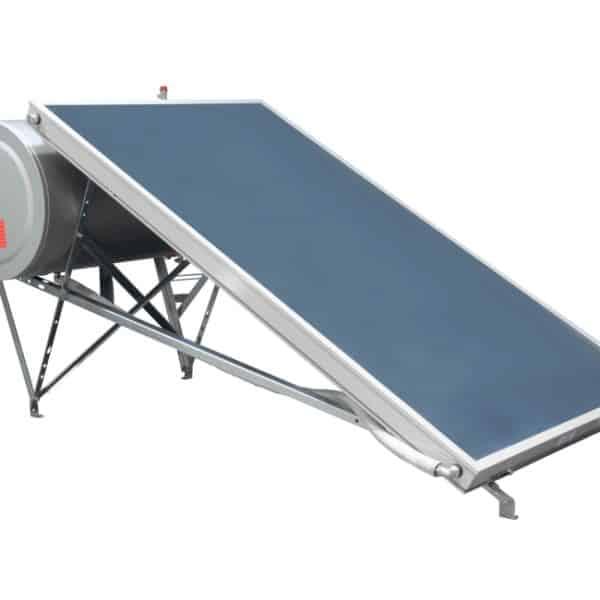 Ηλιακός θερμοσίφωνας τριπλής ενέργειας επιλεκτικός BS eco 160lt/2m² glass BIG SOLAR