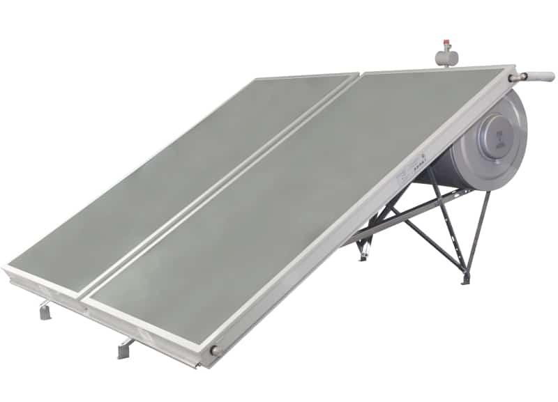 Ηλιακός θερμοσίφωνας διπλής ενέργειας επιλεκτικός BS eco 300lt/4m² glass BIG SOLAR