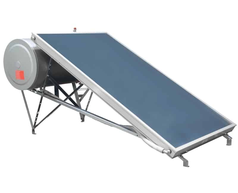 Ηλιακός θερμοσίφωνας διπλής ενέργειας επιλεκτικός BS eco plus 160lt/2.5m² glass BIG SOLAR