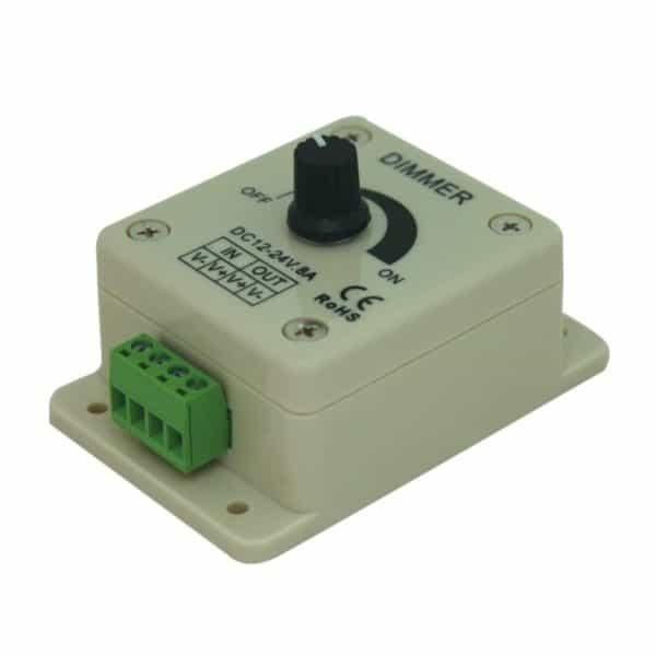 Dimmer με ποτενσιόμετρο 8A 12-24VDC 13-0263 CUBALUX
