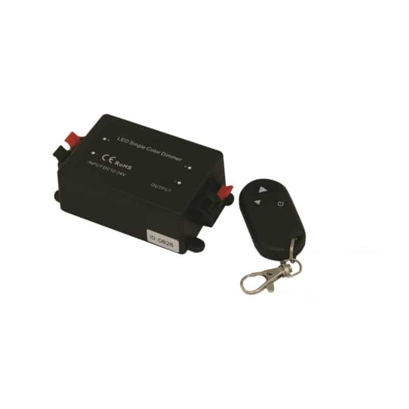 Dimmer RF 8A με τηλεχειριστήριο12-24VDC 13-0264 CUBALUX