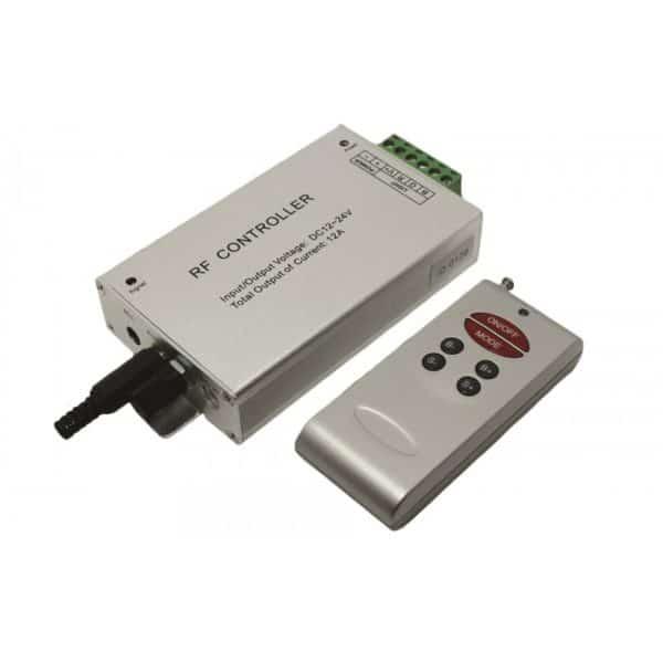 Audio controller για ταινία led RGB με χειριστήριο 13-0268 CUBALUX