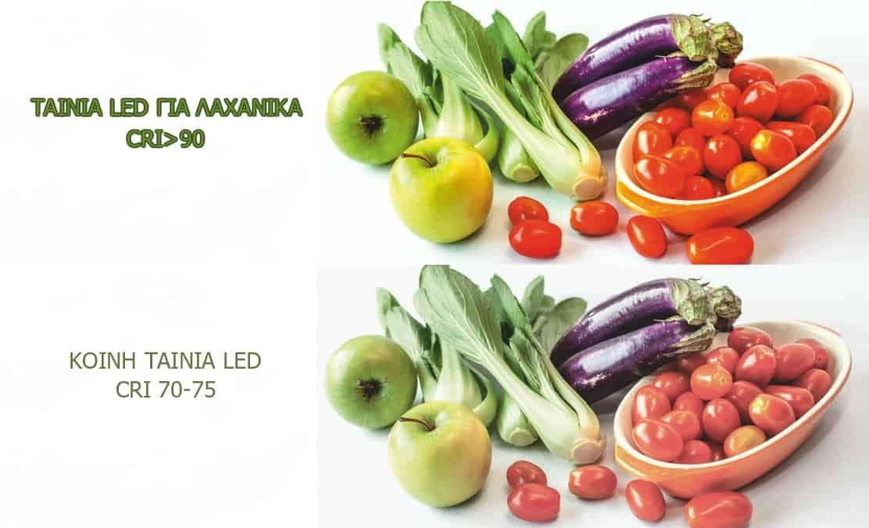 Ταινια led 14.4W 24V για φωτισμό λαχανικών 13-0561 CUBALUX