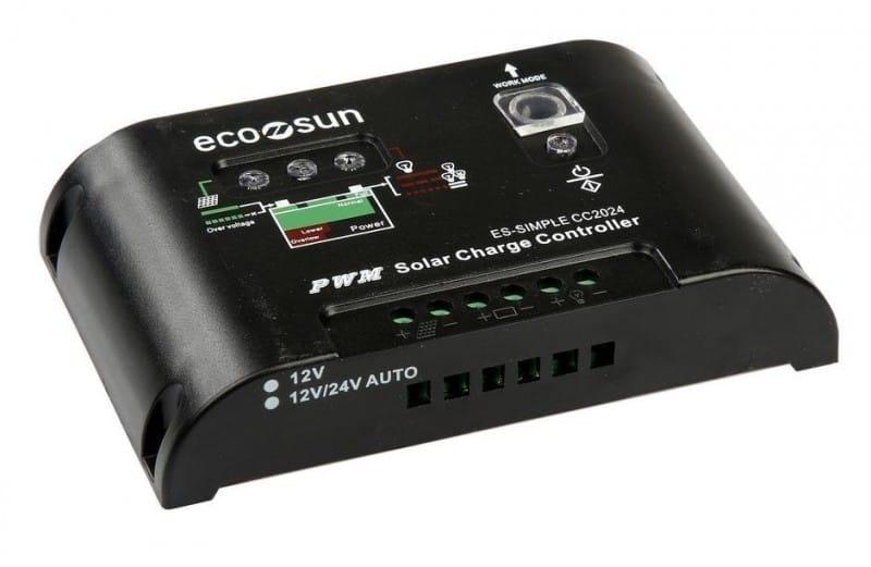 Ρυθμιστής φόρτισης ES-SIMPLE CC1024 10A 12/24V ECOSUN