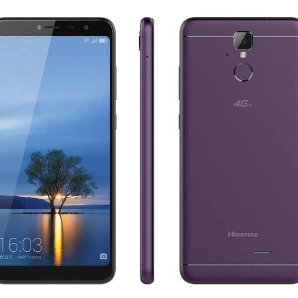 """Κινητό τηλέφωνο Hisense F24 infinity 4G LTE (Dual SIM) 5.99"""" Quad-Core 64bit 1.5 GHz 2GB/16GB μωβ"""