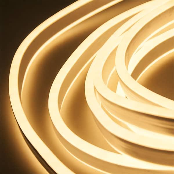 ταινία led neon flex 230V θερμό λευκό 3000k